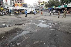 23,704 km of roads in the state were badly damaged due to rain, 1182 km of roads completely damaged
