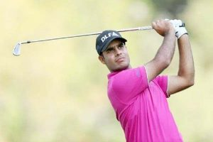 India's Shubhankar Sharma Combined 42nd Place in PGA Golf