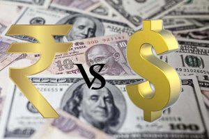 The rupee opened 12 paise higher at 71.20 against the dollar.